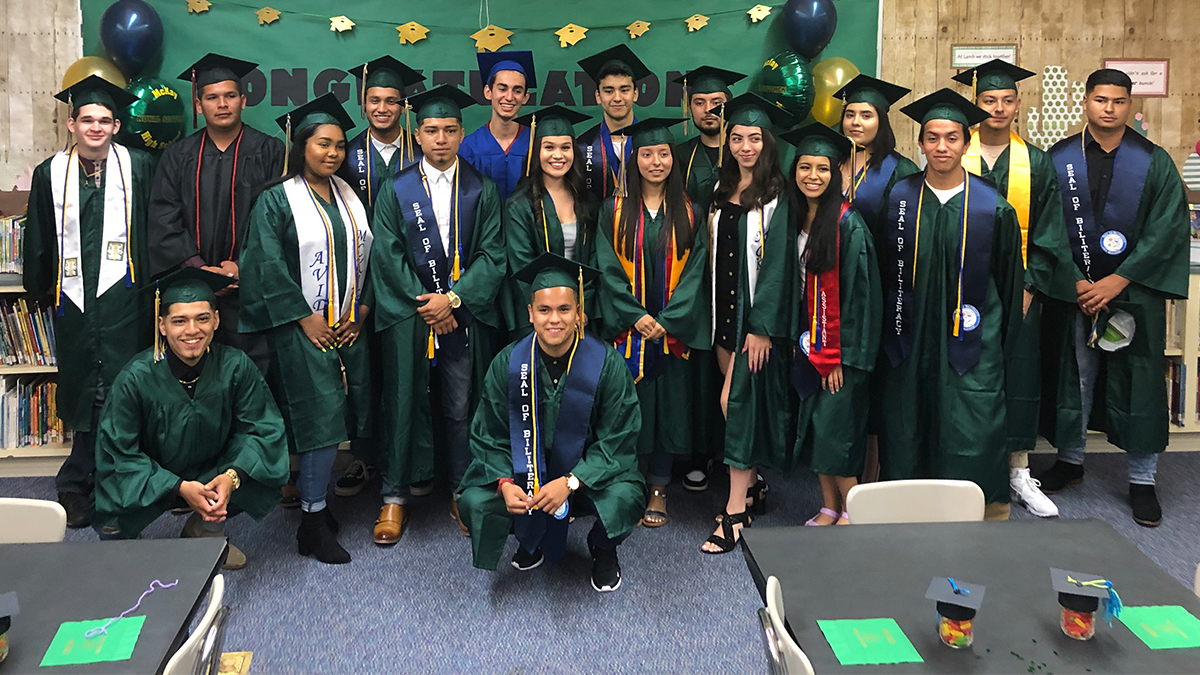 Graduating High School Seniors Visit Lamb For Parade of Honor 2019