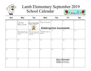 Calendar English